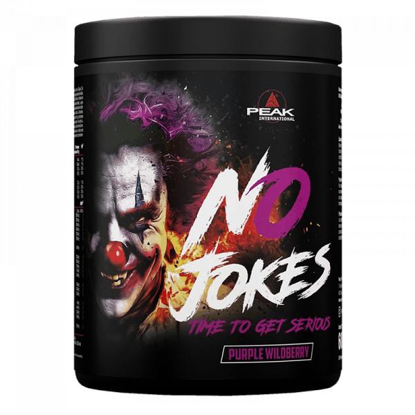 No Jokes (695g), Peak