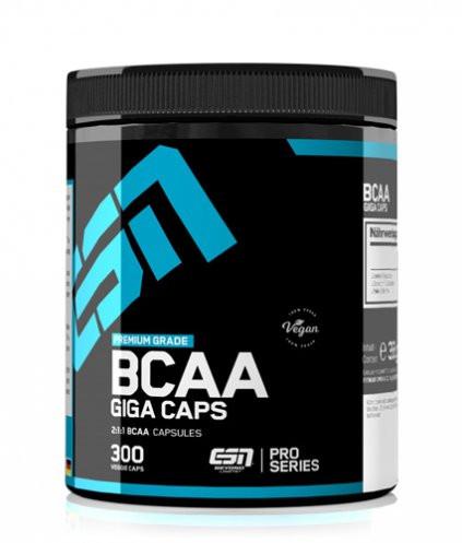 BCAA Giga Caps (300 Caps), ESN