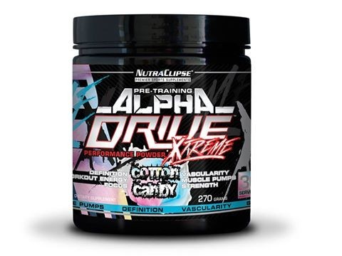 Alpha Drive Xtreme (270g), Nutraclipse