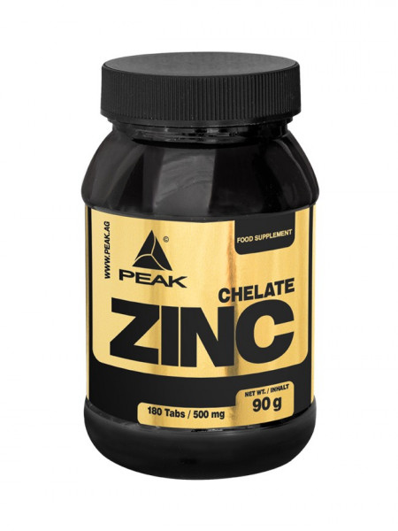 Zinc Chelate (180 Caps), Peak