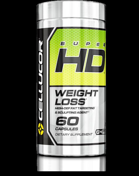 Super HD (60 Caps), Cellucor