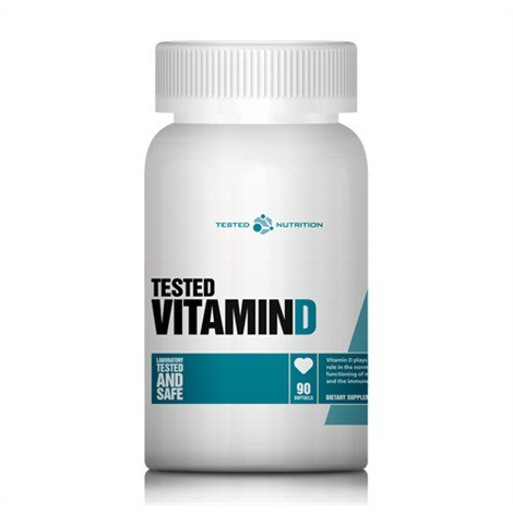 Tested Vitamin D (90 Caps), Tested Nutrition