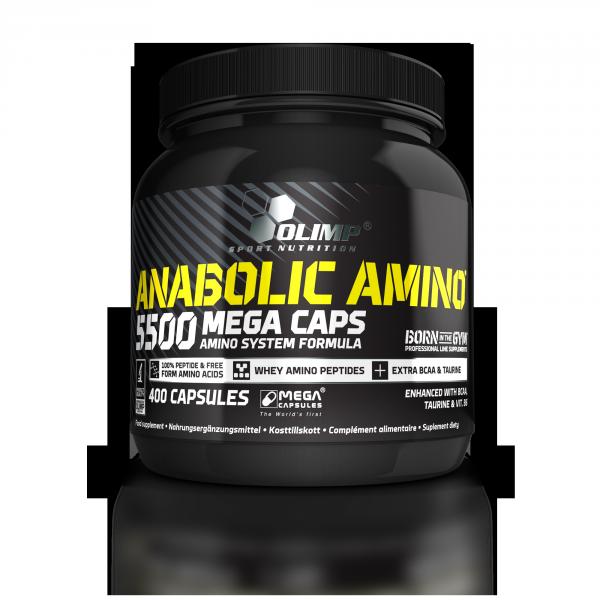 Anabolic Amino 5500 (400 Caps), Olimp