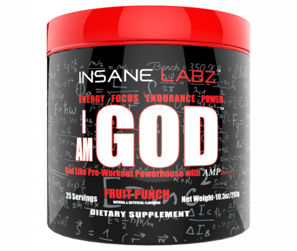 I AM GOD (293g), Insane Labz