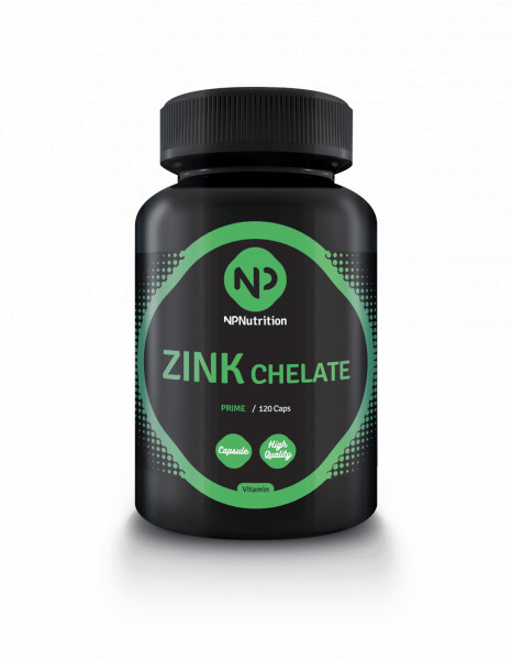 Zink Chelate 50mg (120 Caps), NP Nutrition