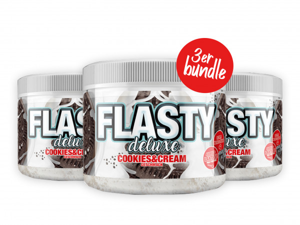 3x Flasty Deluxe (250g), #sinob - Blackline 2.0