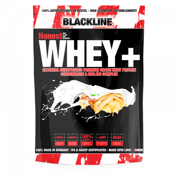 Honest Whey+ (1000g), #sinob - Blackline 2.0