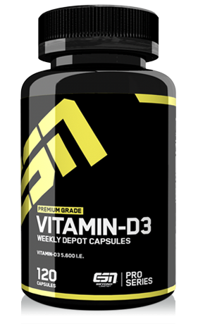 Vitamin D3 (120 Caps), ESN