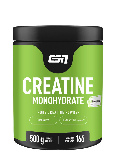 Creapure Creatin Monohydrat (500g), ESN