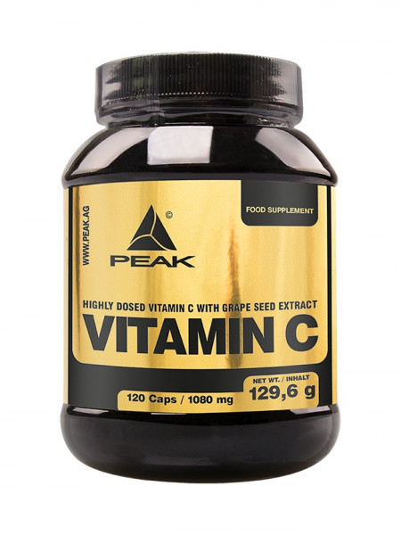 Vitamin C (120 Caps), Peak