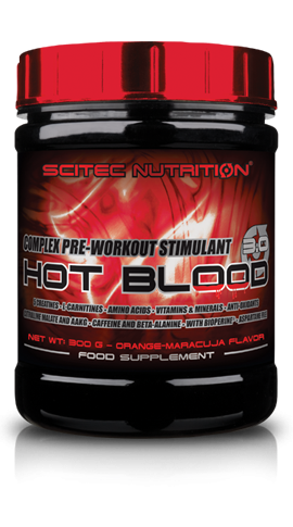 Hot Blood 3.0 (300g), Scitec Nutrition