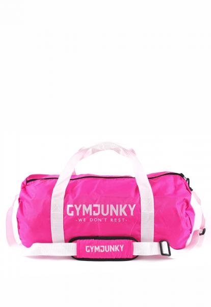 Dufflebag Hot-Pink, Gymjunky