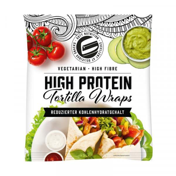 Tortilla Wraps (280g), Got7 Nutrition - MHD 12.10.21