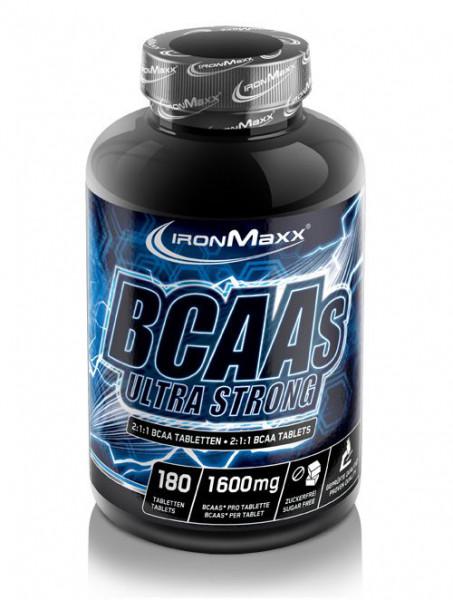 BCAA Ultrastrong (180 Tabs), Ironmaxx