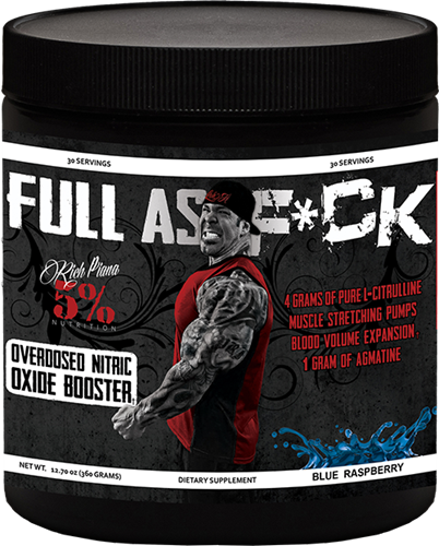 Full as Fuck EU (387g), Rich Piana 5% Nutrition