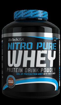 Nitro Pure Whey Gold (2270g), BioTechUSA