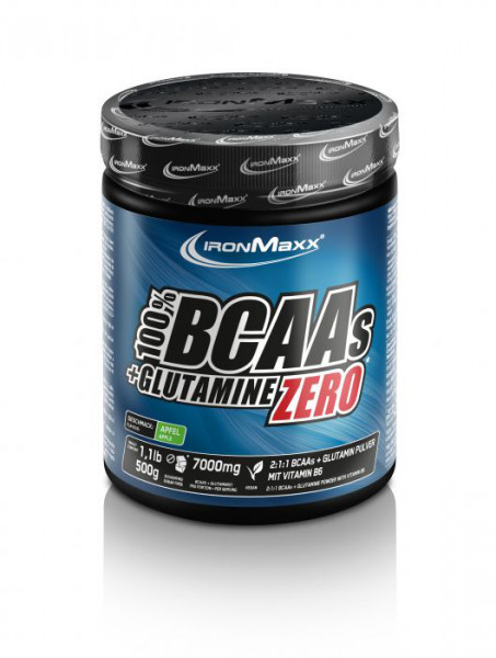BCAA + Glutamin Powder (500g), Ironmaxx