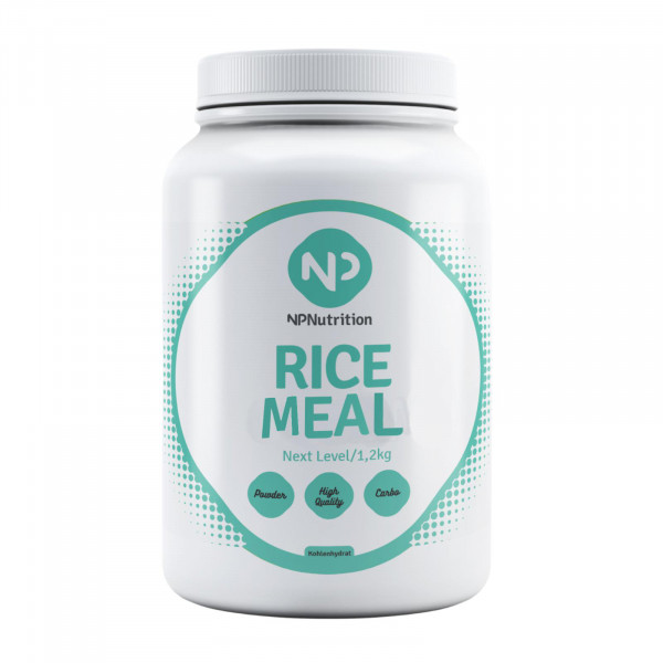 Rice Meal (3600g), NP Nutrition