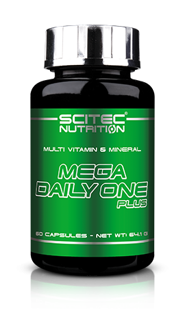 Mega Daily One Plus (60 Caps), Scitec Nutrition