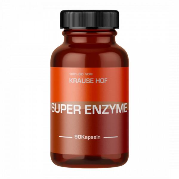 Super Enzyme (90 Kapseln), Krause Hof