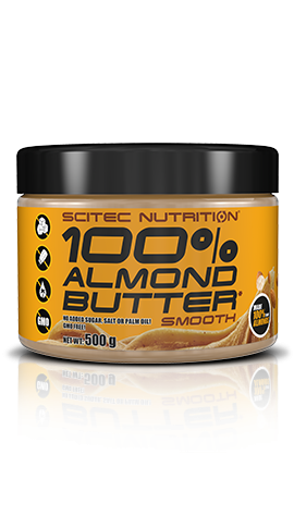 100% Almond Butter (500g), Scitec Nutrition