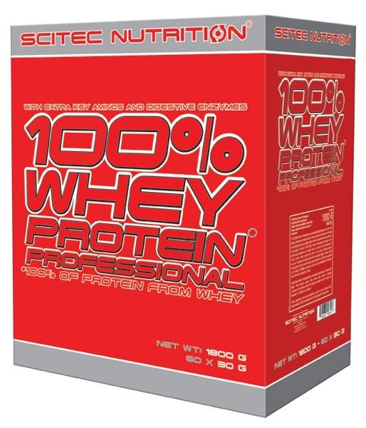 Variety Pack: 100% Whey Protein Professional 30x30g Tüten (900g), Scitec Nutrition