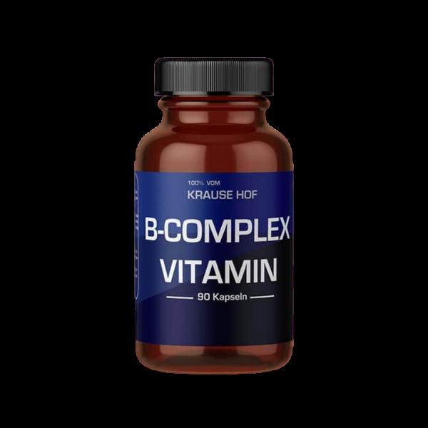Vitamin B-Complex (90 Kapseln), Krause Hof