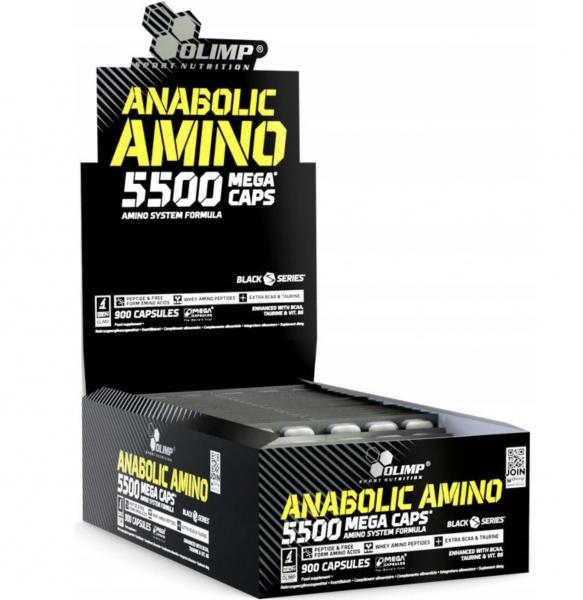 Anabolic Amino 5500 (Blister a 30 Caps) MHD 19.11.20