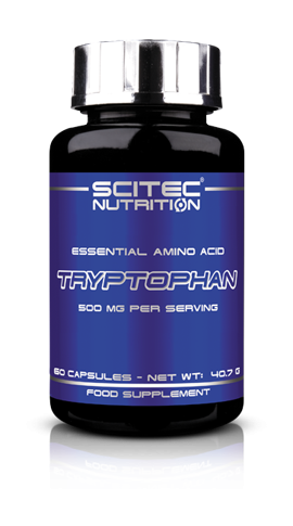 Tryptophan (60 Caps), Scitec Nutrition