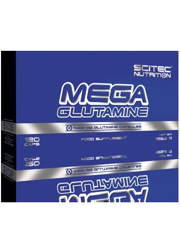 Mega Glutamin (120 Caps), Scitec Nutrition