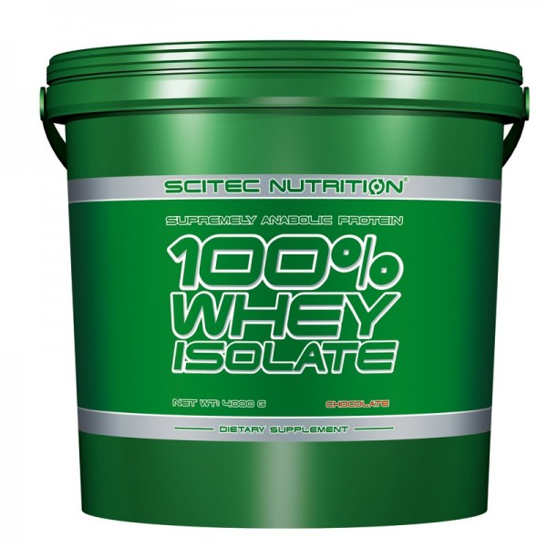 100% Whey Isolate (4000g), Scitec Nutrition