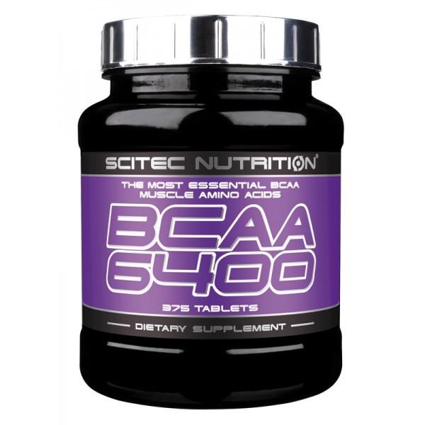 BCAA 6400 (375 Tabs), Scitec Nutrition