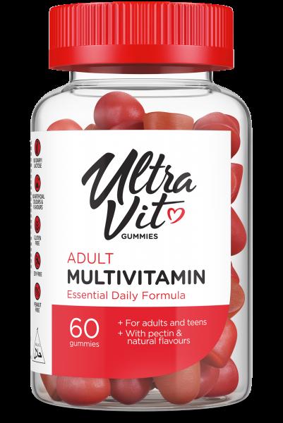 Multivitamin Adult (60 Gummies), Ultravit