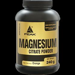 Magnesium Citrate (240g), Peak