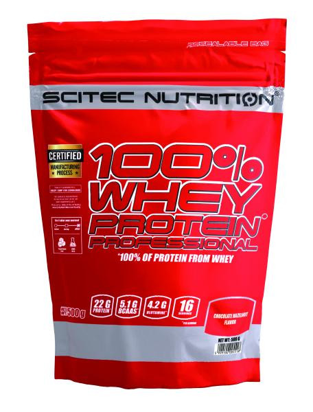 100% Whey Professional (500g), Scitec Nutrition