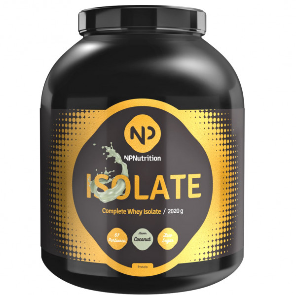 Isolate Complete (2020g), NP Nutrition