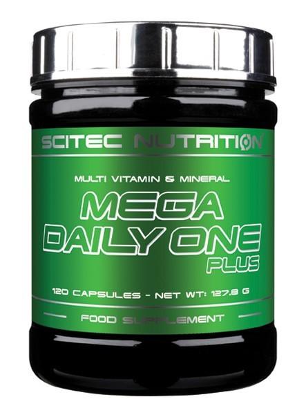 Mega Daily One Plus (120 Caps), Scitec Nutrition