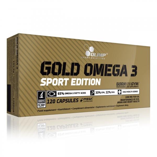 Omega 3 Gold Sport (120 Caps), Olimp