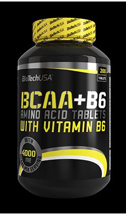 BCAA+B6 (340 Tabs), BioTechUSA
