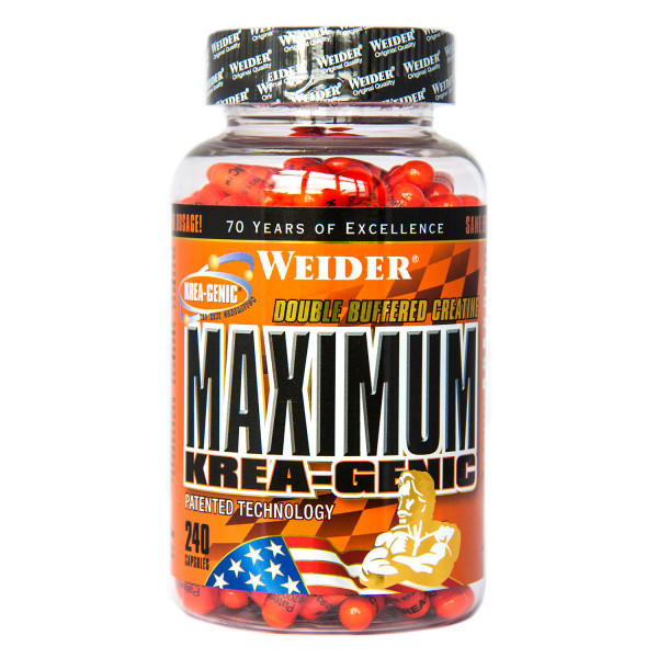 Maximum Krea-Genic (240 Caps), Weider