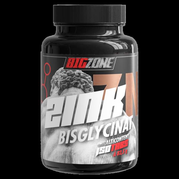 Zink Bisglycinat (150 Tabletten), BigZone