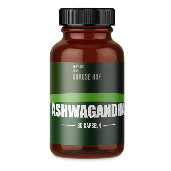 Ashwagandha (90 Caps), Hof Krause