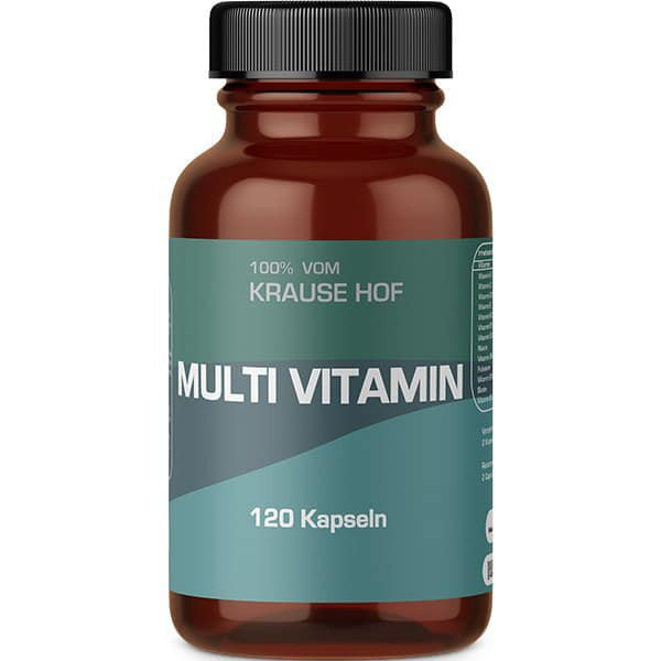 Multivitamin (Vitamin/Mineral Complex) (120 Kapseln), Krause Hof