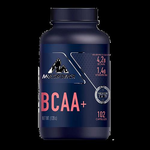 BCAA + (102 Caps), Multipower (MHD 31.03.21)