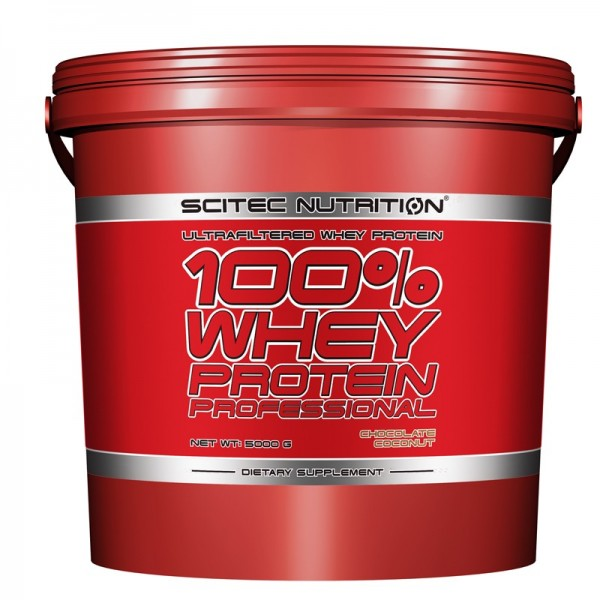 100% Whey Professional (5000g), Scitec Nutrition