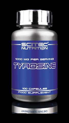 Tyrosine (100 Caps), Scitec Nutrition
