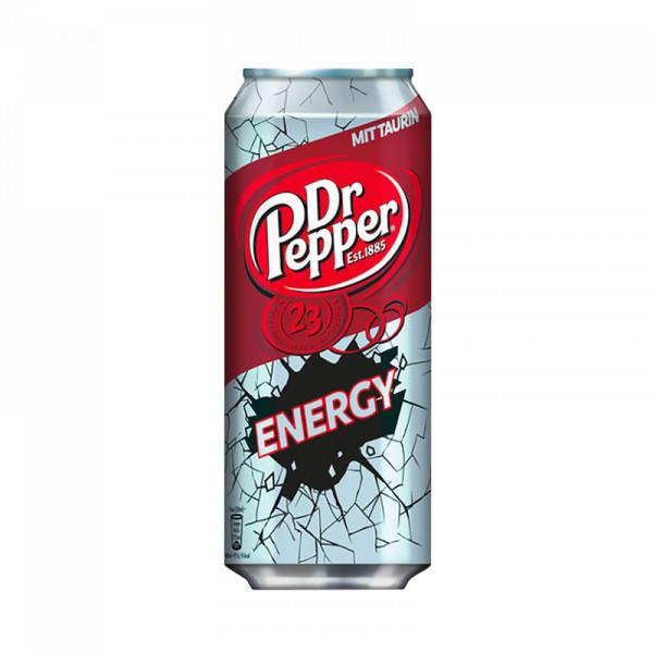 Dr. Pepper (250 ml) Energy Drink - MHD 31.07.21