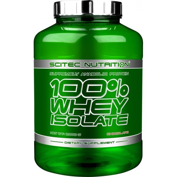 100% Whey Isolate (2000g), Scitec Nutrition
