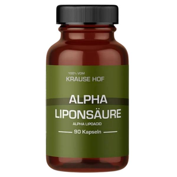 Alpha Liponsäure (90 Kapseln), Krause Hof