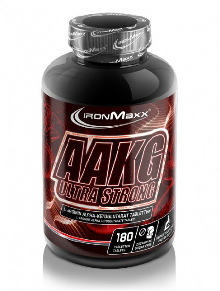 AAKG Ultra Strong (180 Tabs), Ironmaxx Nutrition